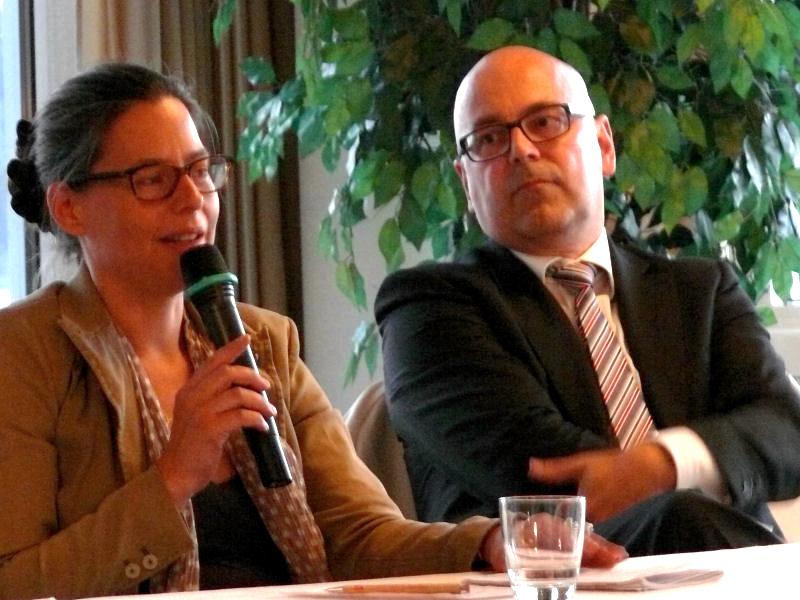 Nina Scheer und Torsten Albig