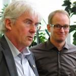 Bernd Heinemann und Björn Warmer