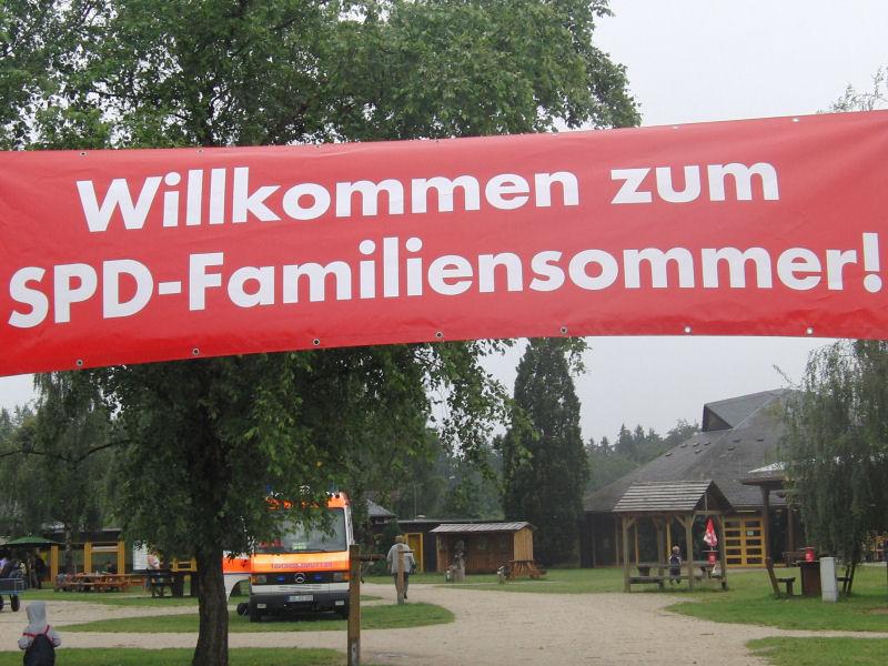 Familiensommer - Plakat