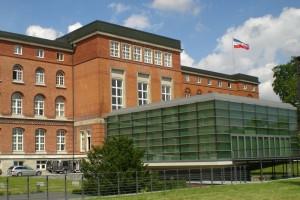 Das Landeshaus in Kiel
