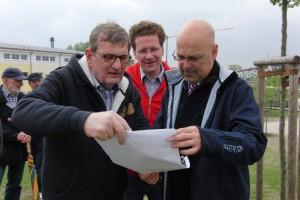 Foto: Wolfgang Pohlmann, Martin Habersaat und Torsten Albig (2012)