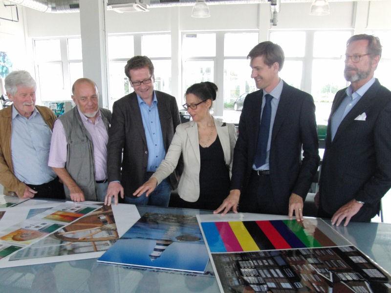 Besuch bei E. Michaelis & Co. in Reinbek