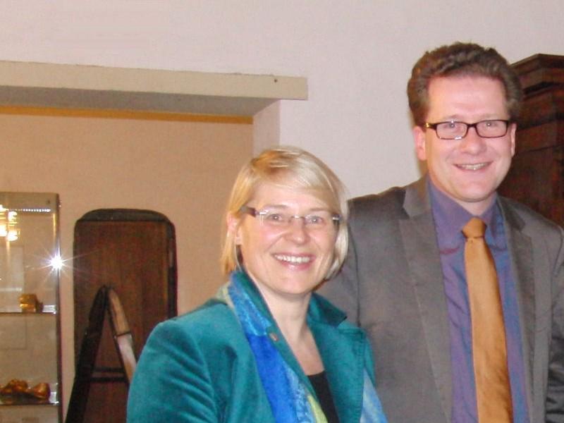 Foto: Kristin Alheit und Martin Habersaat