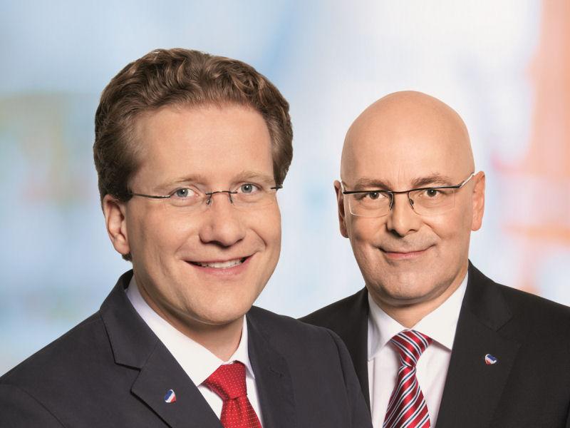 Martin Habersaat und Torsten Albig (2012)