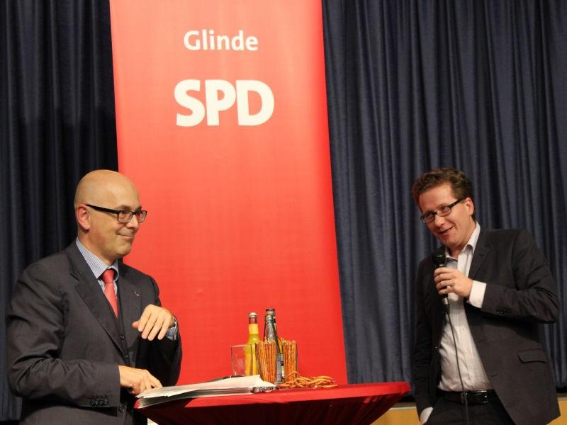 Torsten Albig und Martin Habersaat