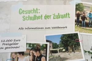 Schulhof Flyer