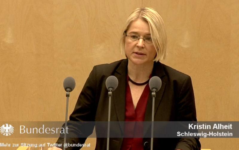 Kristin Alheit im Bundesrat