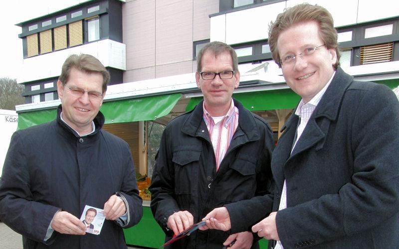 Foto: Landtagswahlkampf 2012 in Barsbüttel