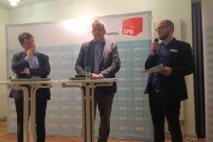 Ralf Stegner, Stefan Studt, Tobias von Pein