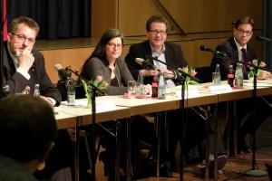 Stefan Studt, Nina Scheer, Martin Habersaat, Florian Pronold