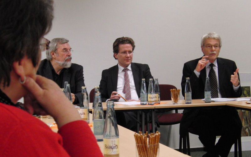 Rolf Fischer, Martin Habersaat
