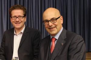 Martin Habersaat und Torsten Albig