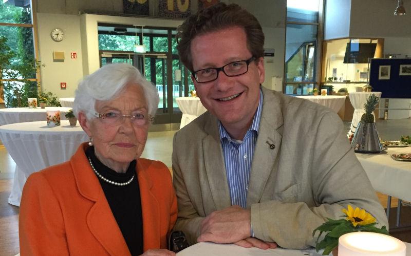 Gerda Michels und Martin Habersaat