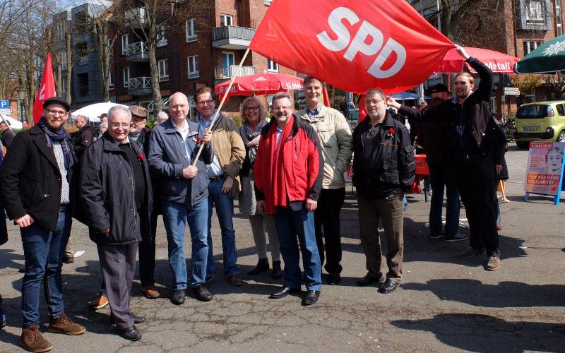 SPD Stormarn 1. Mai 2016