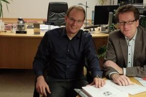 Bjrön Warmer und Martin Habersaat 2016