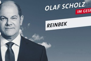 Olaf Scholz in Reinbek