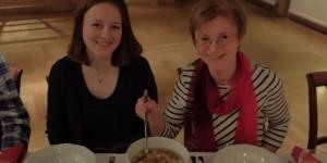 Lara Gruwe und Sabine Huss-Reichelt