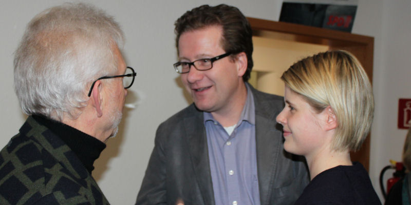 Klaus Plöger, Martin Habersaat und Shakira-Jil Habersaat