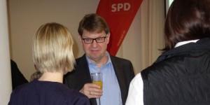 Ralf Stegner im Gespräch