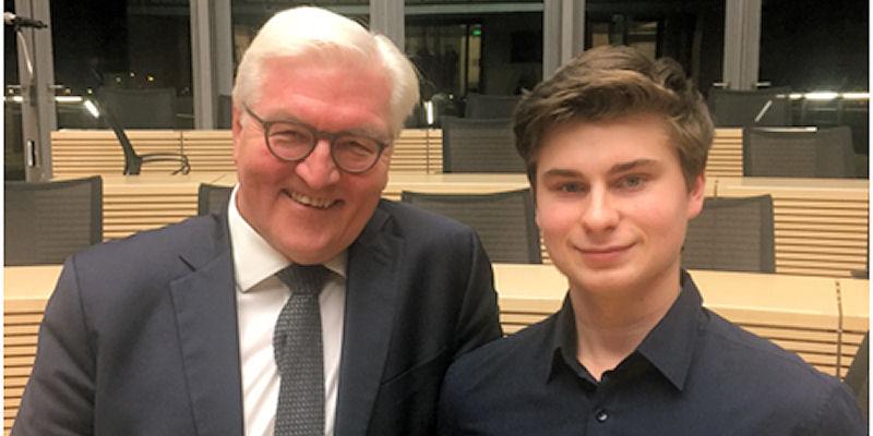 Frank-Walter Steinmeier und Bastian van der Neut