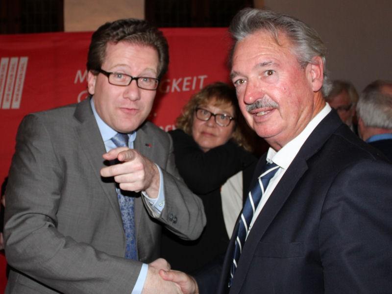Martin Habersaat, Susanne Danhier und Jean Asselborn