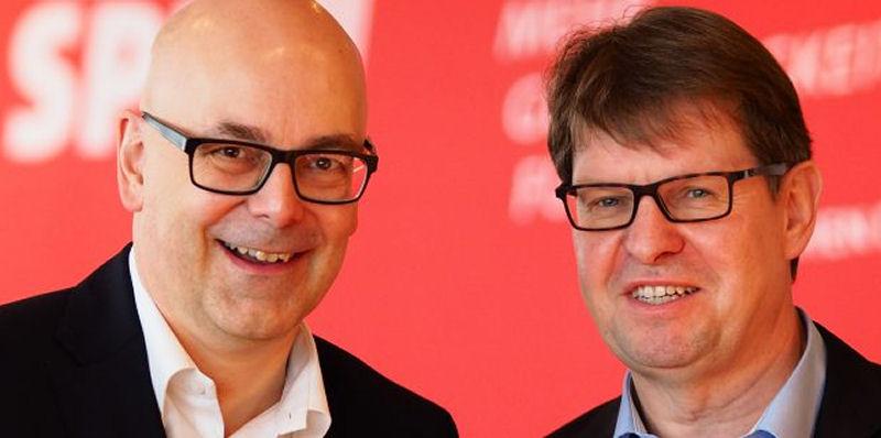 Foto: Torsten Albig und Ralf Stegner
