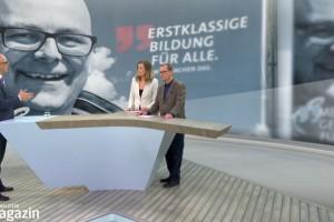 Torsten Albig im Schleswig-Holstein Magazin