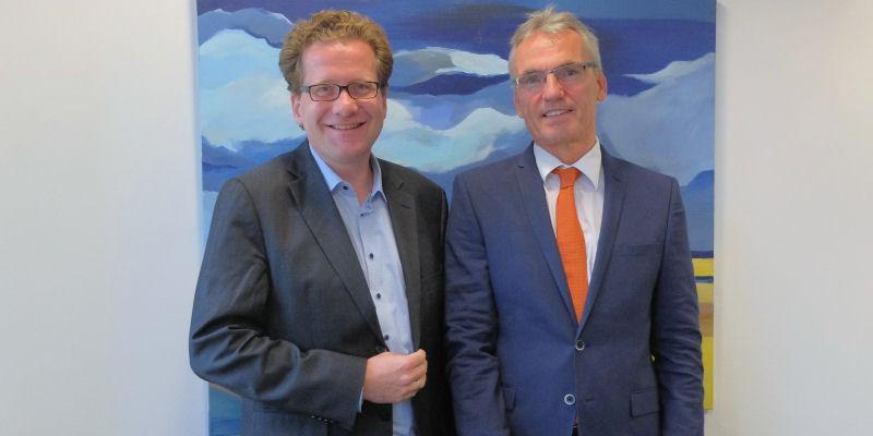 Martin Habersaat und Dirk Petersen 2017