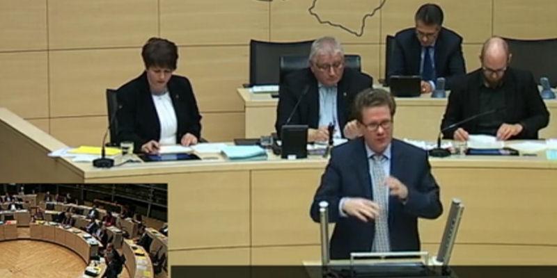 Landtag Schulgesetzänderung