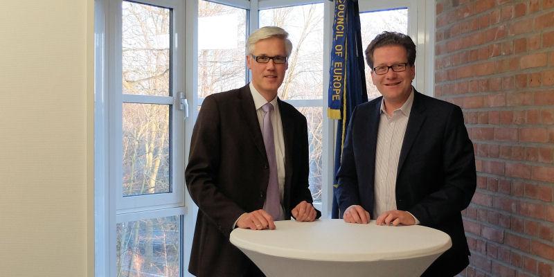 Rainhard Zug und Martin Habersaat 2017