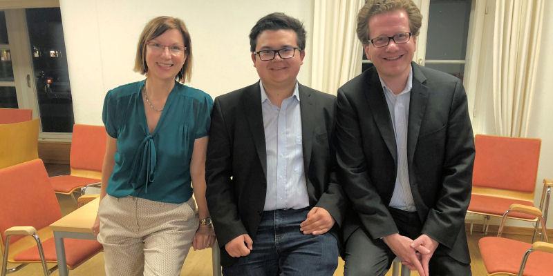 Foto: Sibylle Hampel, Oliver Jäger und Martin Habersaat