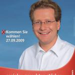 Plakat zur Landtagswahl 2009