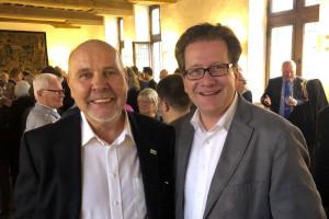 Jochen Bloch und Martin Habersaat