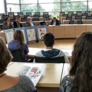 Diskussion im Landtag