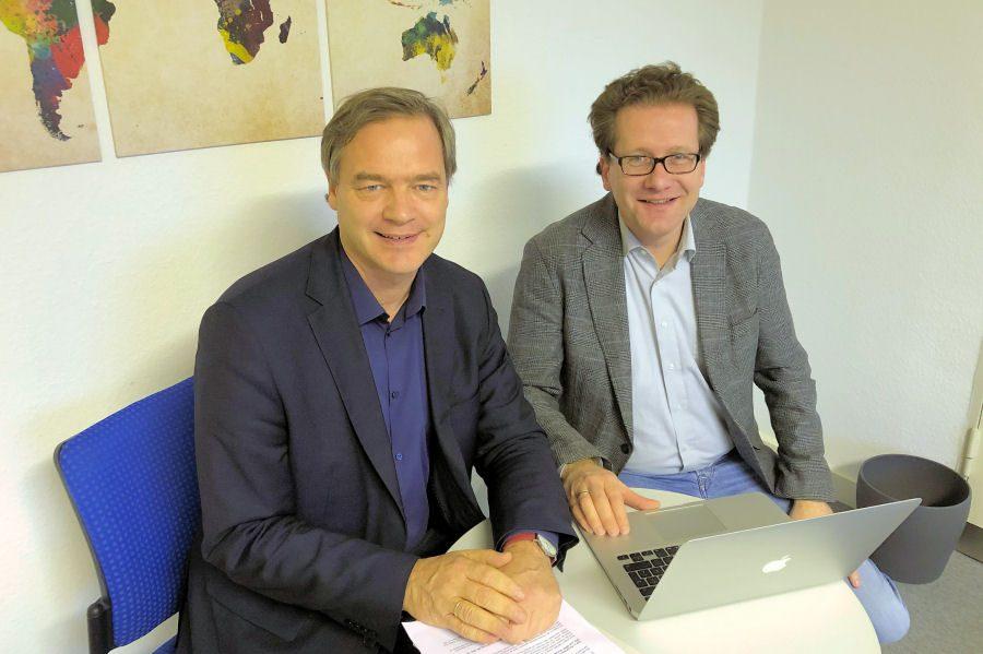 Kai Vogel und Martin Habersaat