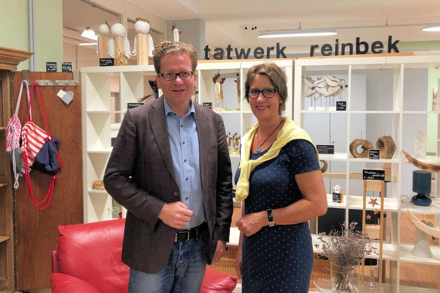 Martin Habersaat und Gabriela Will
