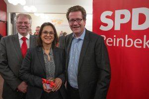 Gerd Prüfer, Serpil Midyatli und Martin Habersaat